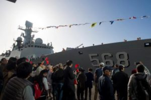 Goodwill Visit – Naval Ships from China